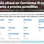 Corrientes: Nación amplió la disponibilidad de carne de calidad a precios accesibles